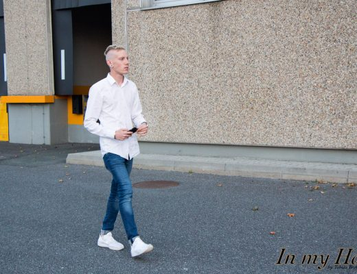 MY STYLE White Look - Nike Sneakers und Hugo Boss Hemd, In my Hood, Tobias Brotherhood, Blog, Graz, Blogger, Fashion, Lifestyle